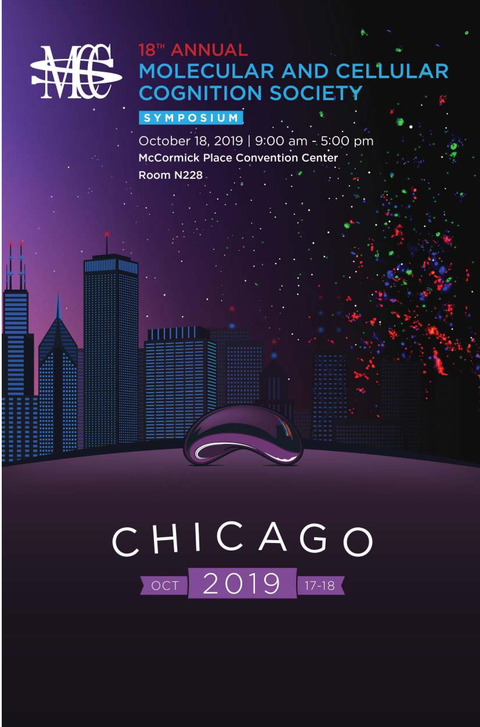 MCCS Chicago 2019 Program, Page 1